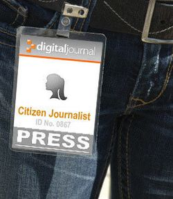 Citizen-journalist