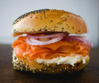 Bagel-and lox
