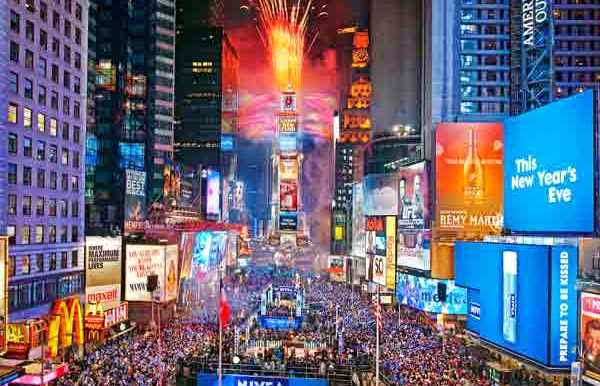 New Year's Eve 2015 in New York City