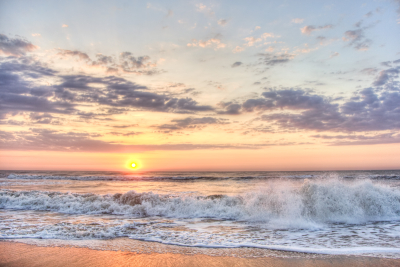 Beach-sunrise-