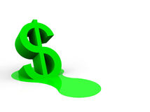 Melting-dollar-trade-currency-23740088
