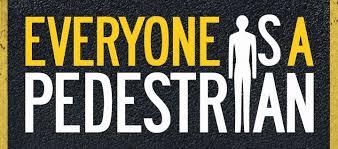 Pedestrian Safety Month logo