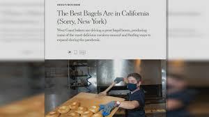 Calif bagels